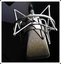 voice over microphone